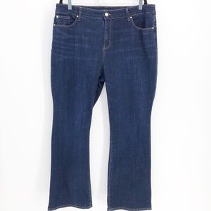 Chico's Medium Wash Bootcut Jeans Size 3.5